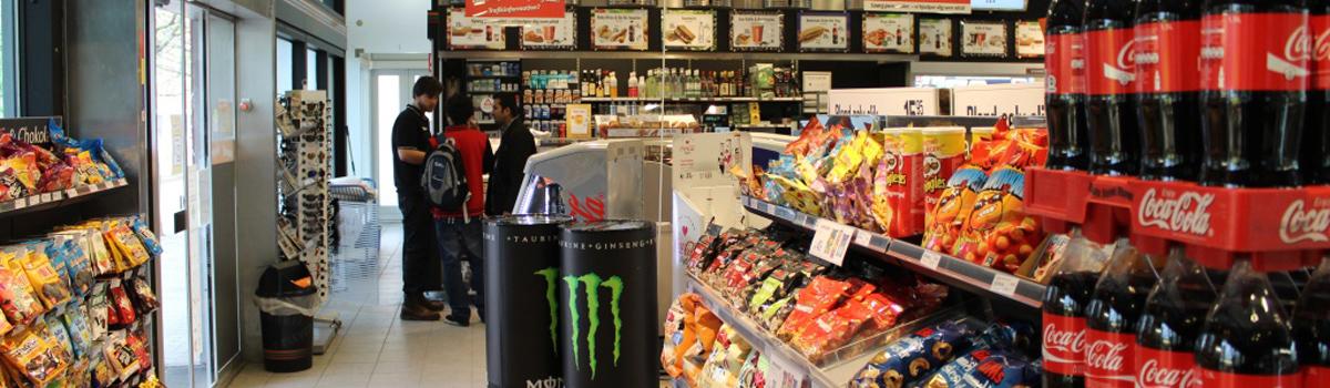 Konflikt i butik